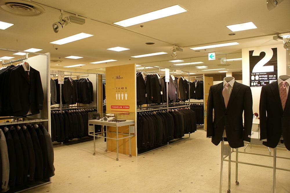スーツ&スーツ つかしん店
