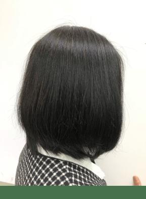2回以上シャンプーをして、髪を完全に乾かす。