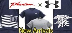 ファントム×アンダーアーマー コラボのフラッグ&トライデントTシャツがプライスダウンで登場
