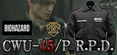 「バイオハザード」シリーズに登場するラクーン警察署の支給品をイメージしたジャケット