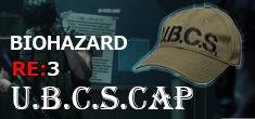 「バイオハザードRE:3」シリーズのU.B.C.Sをイメージしたキャップ