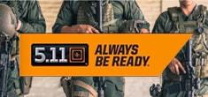 法的機関、保安機関向けアパレルを作る5.11