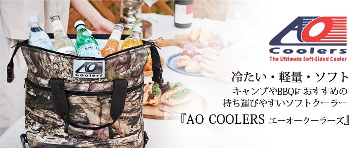 保冷性の高いAO COOLERSのソフトクーラー