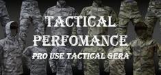 世界各国の軍や法執行機関に納品実績があるタクティカルパフォーマンス