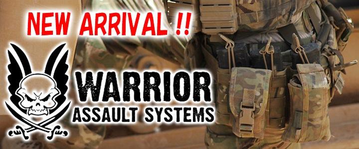 イギリス軍のみならず、アメリカやフランスをはじめ世界各国の軍、法執行機関のオペレーターに愛用されているWarrior Assault Systems ウォーリアーアサルトシステム入荷 !