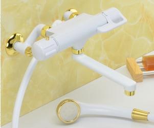 白金サーモシャワー混合栓