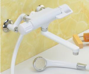 白銀サーモシャワー混合栓