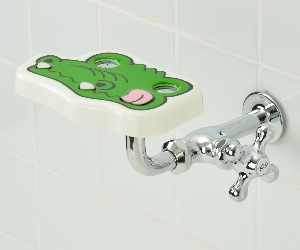 洗眼用水栓カバー(ワニン)