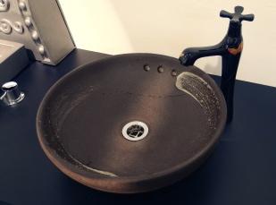 丸型手洗器