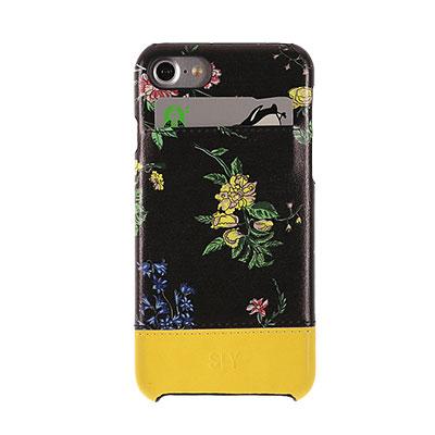 【iPhone 7】ナイトフラワー ブラック SLY[スライ]
