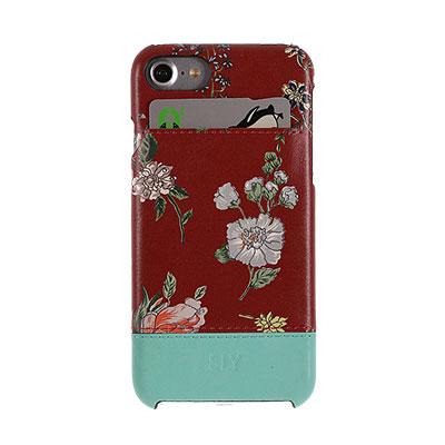 【iPhone 7】 ナイトフラワー レッド SLY[スライ]