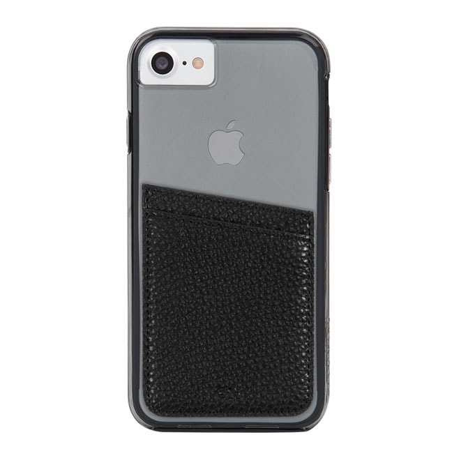 カードホルダーステッカー Case-Mate ID Pocket-Black Case-Mate