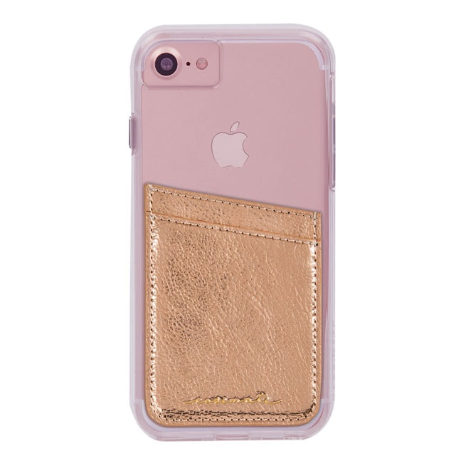 カードホルダーステッカー Case-Mate ID Pocket-Rose Gold Case-Mate