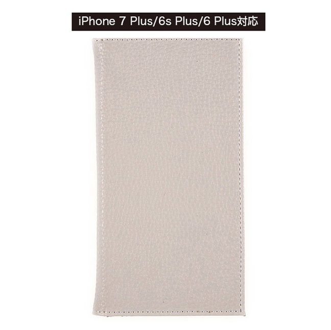 [Smart Labo限定]iPhone 7 Plus/6s Plus/6 Plus 手帳型スマホケース MATTE_PG [パールグレイ] 佐野真依子[さのまいこ]