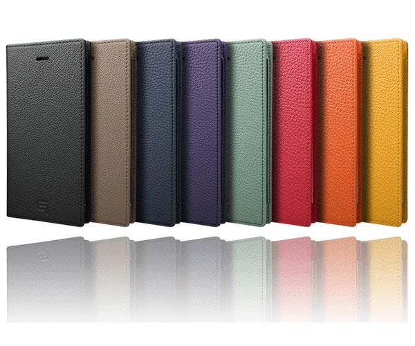 世界トップクラスのレザー品質「シュランケンカーフ」を使用!GRAMASの贅沢な手帳型スマホケース