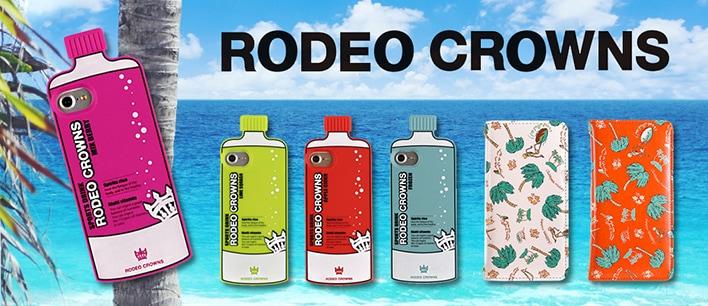 RODEO CROWNS(ロデオクラウンズ)のスマホケース