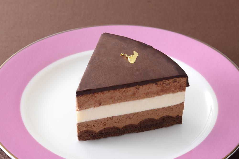 糖質制限 三色チョコレートムースケーキ