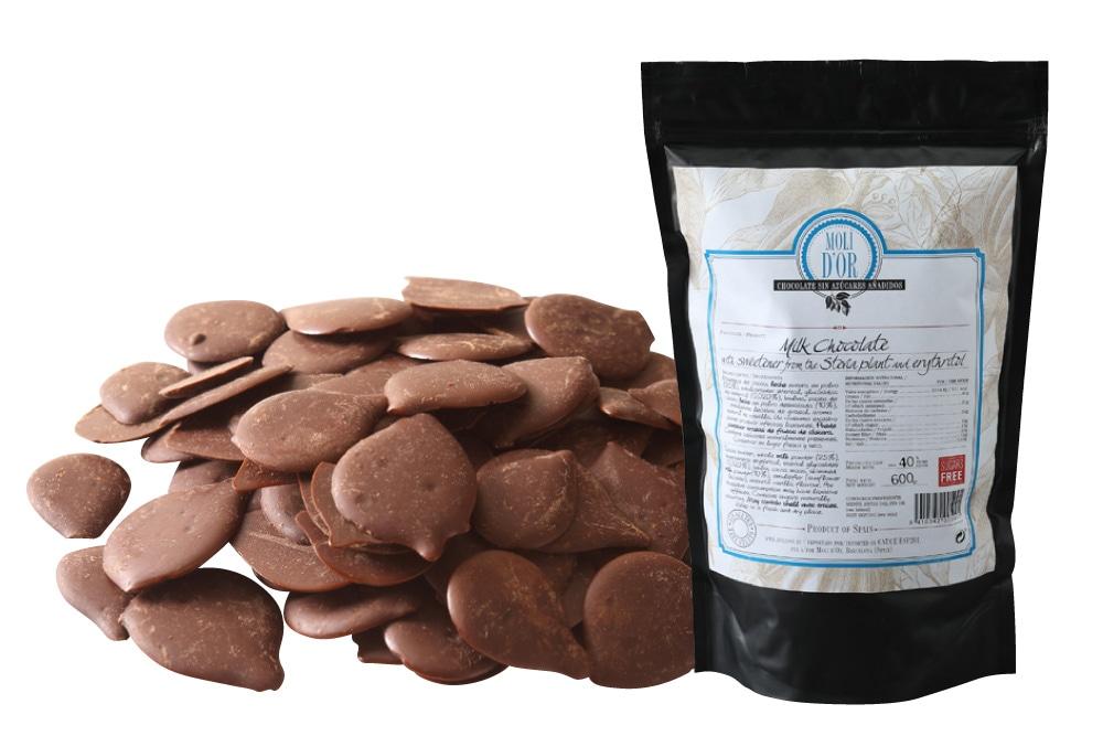 モリドル 糖質制限 ミルクチョコレート・袋入り 600g ミルク