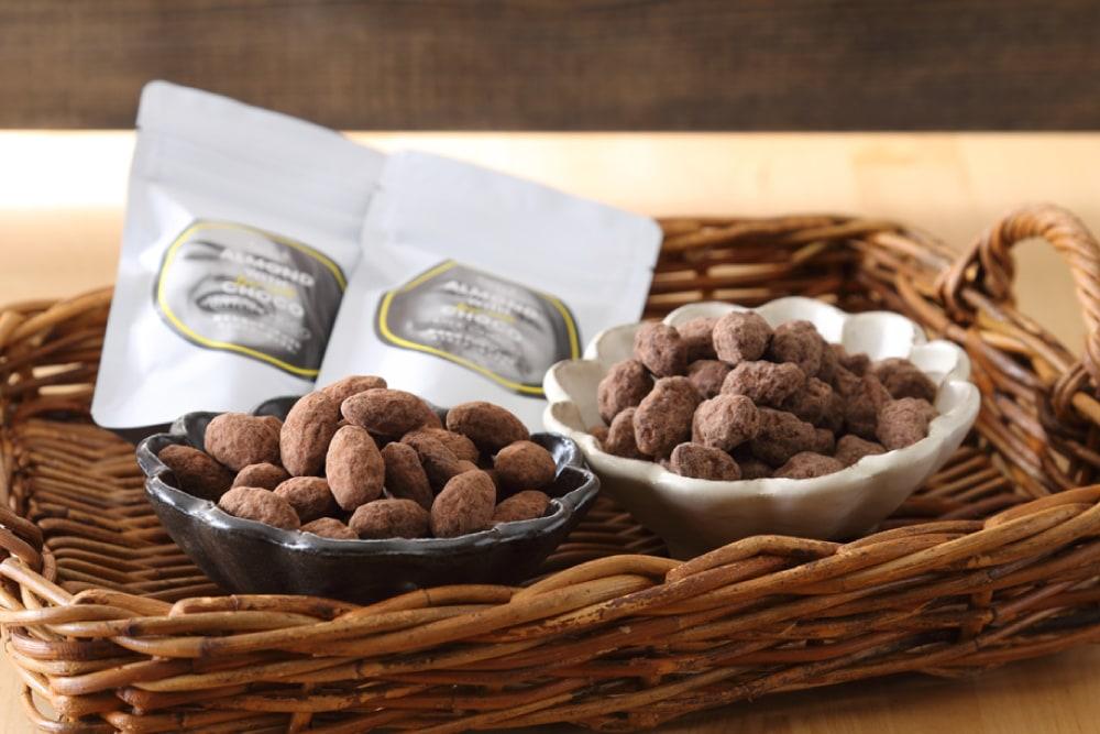 糖質制限 アーモンドチョコレート