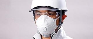 使い捨て式マスク