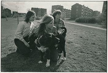 放課後の陽射し  ハンブルグ 1974