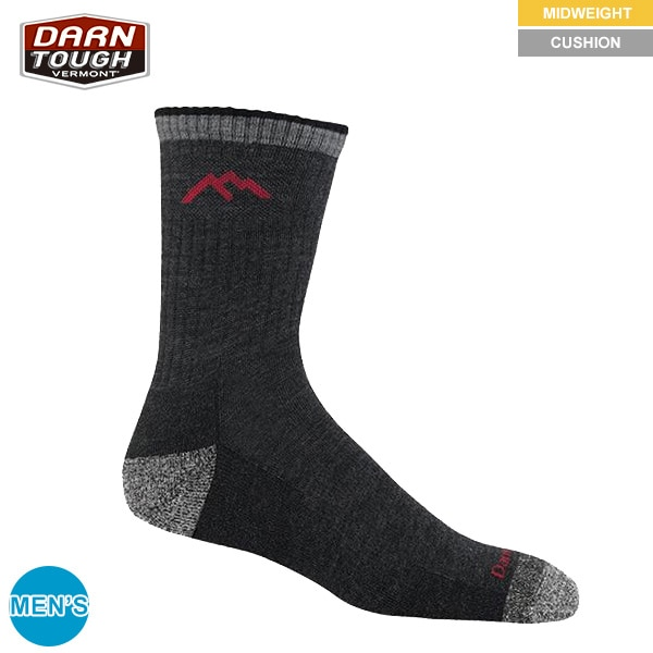 Darn Tough Socks Micro Crew Cushion L 1466 Chocolate