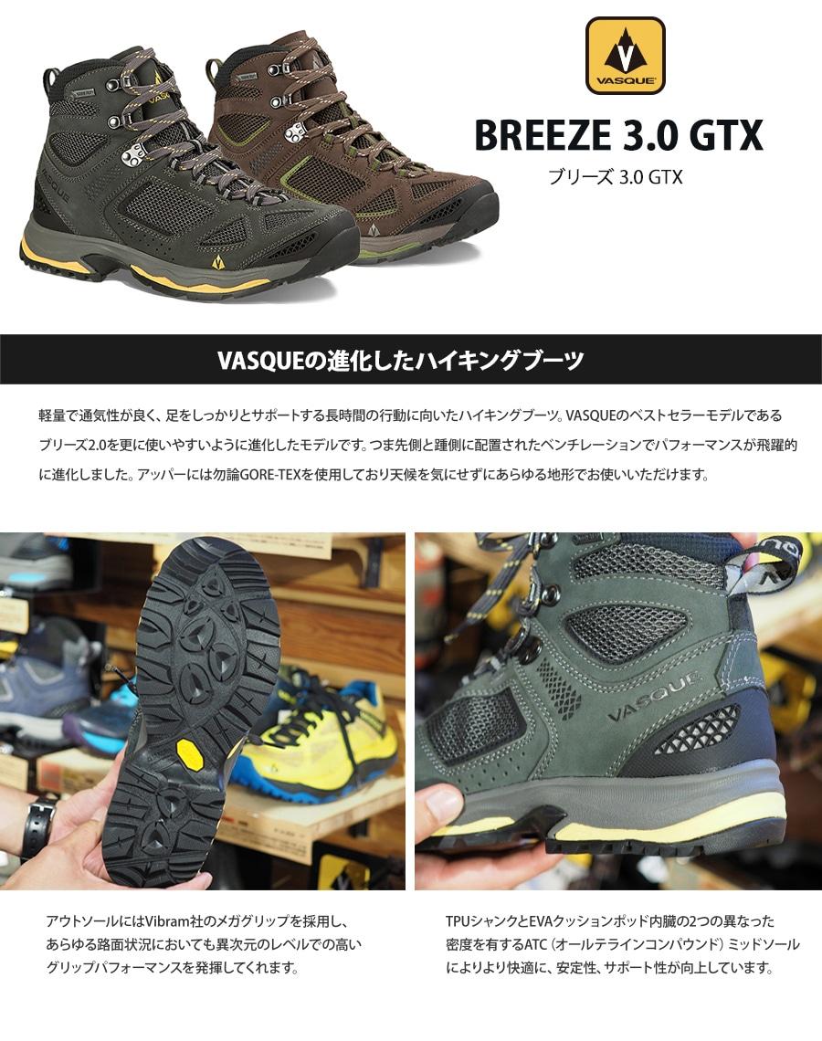 バスク メンズ ブリーズ3.0 GTX