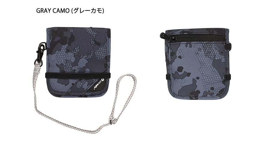 pacsafe パックセーフ RFIDセーフ V100 グレーカモ