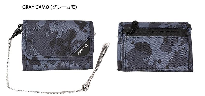 pacsafe パックセーフ RFIDセーフ V125 グレーカモ