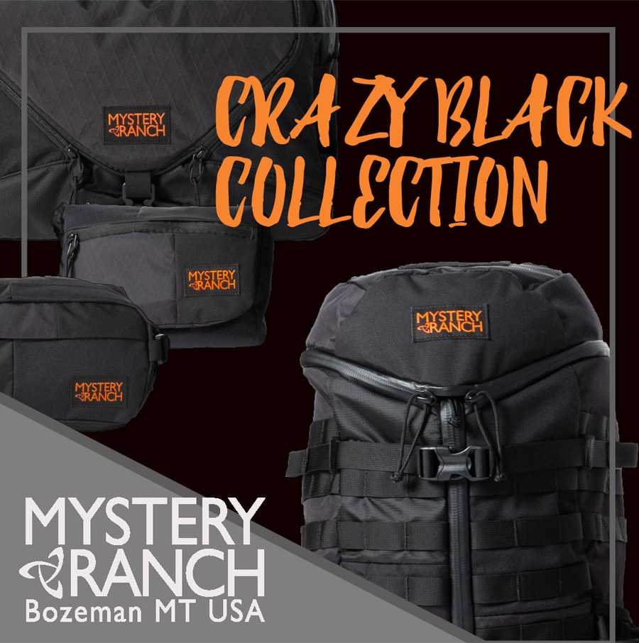 MYSTERYRANCH ミステリーランチ スカ クレイジーブラック