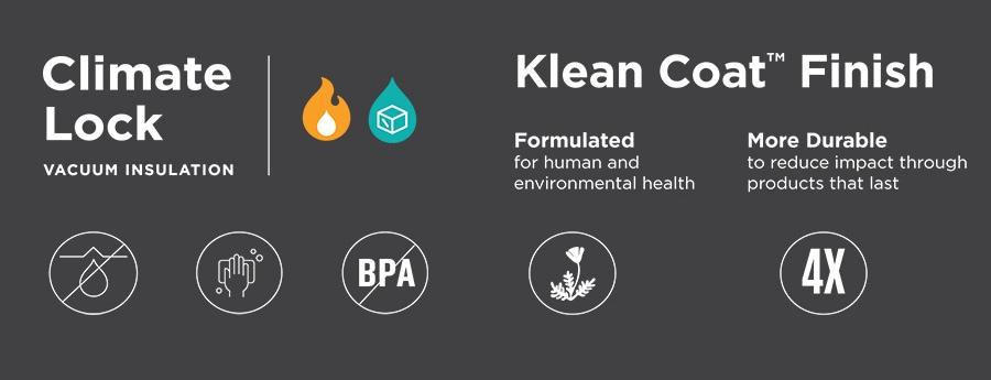 Klean Kanteen ClimateLock Klean Coat