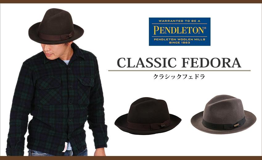 PENDLETON ペンドルトン クラシックフェドラ