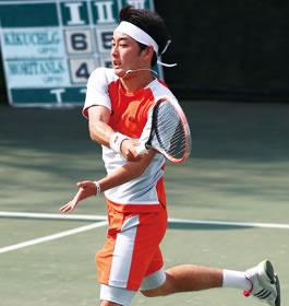 プロテニスプレイヤー守谷総一郎さん