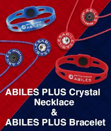アビリスプラスクリスタル ネックレス&ブレスレット T-RED&LUE