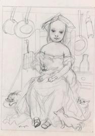 藤田 Enfant d'artiste_1