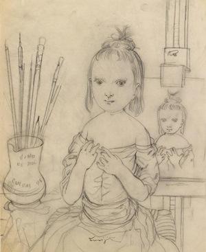 藤田 Enfant d'artiste_2