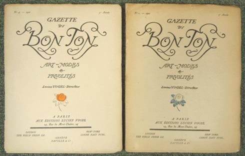 デュフィ ガゼット・デュ・ボン・トン Gazette du Bon Ton