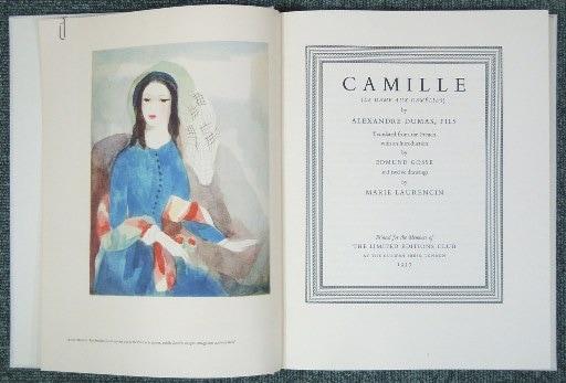 マリー・ローランサン 椿姫 Camille