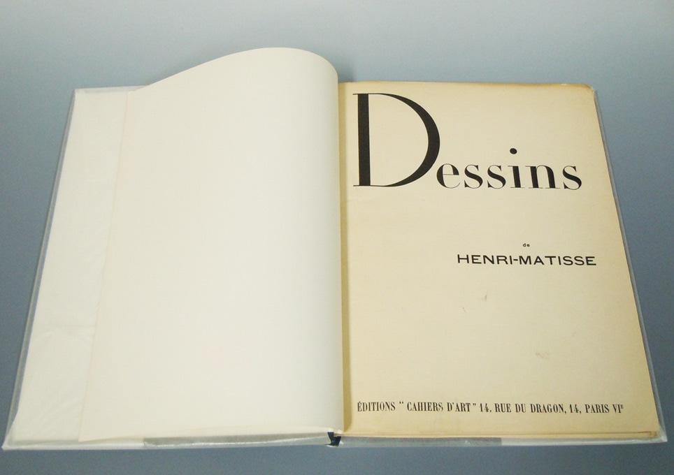 マティスのデッサン 1936