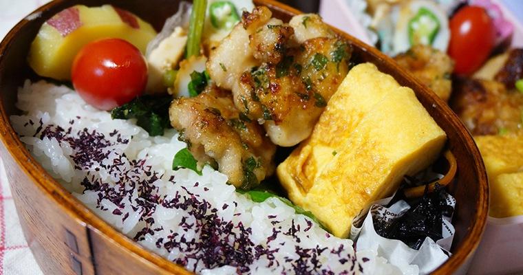 大黒堂の調理済み焼きもも串を使って作ったお弁当