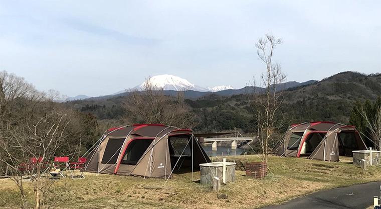 手ぶらキャンプ場の写真
