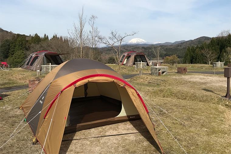 緑水湖オートキャンプ場の写真