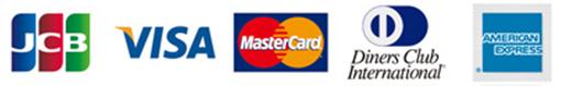 クレジットカード(VISA・MASTER・DINERS・JCB・AMEX)