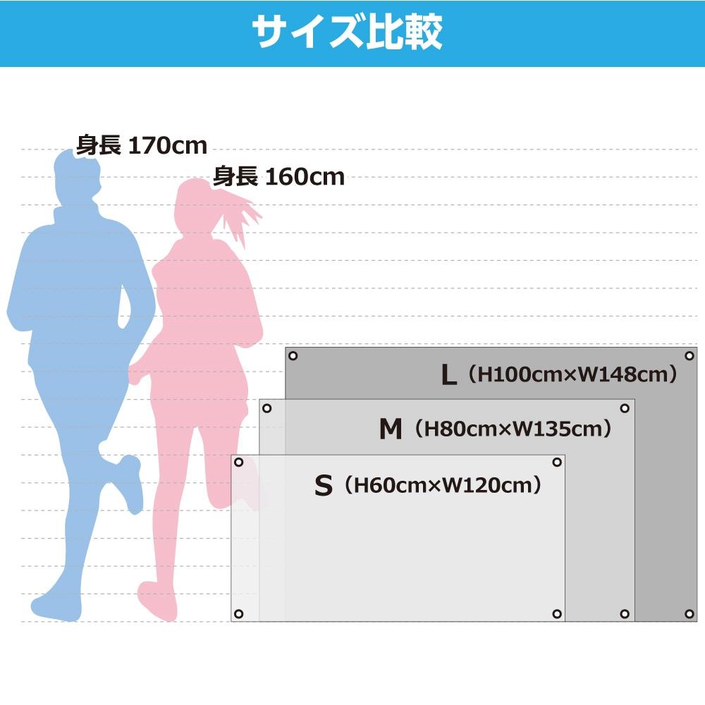 フラッグサイズ比較