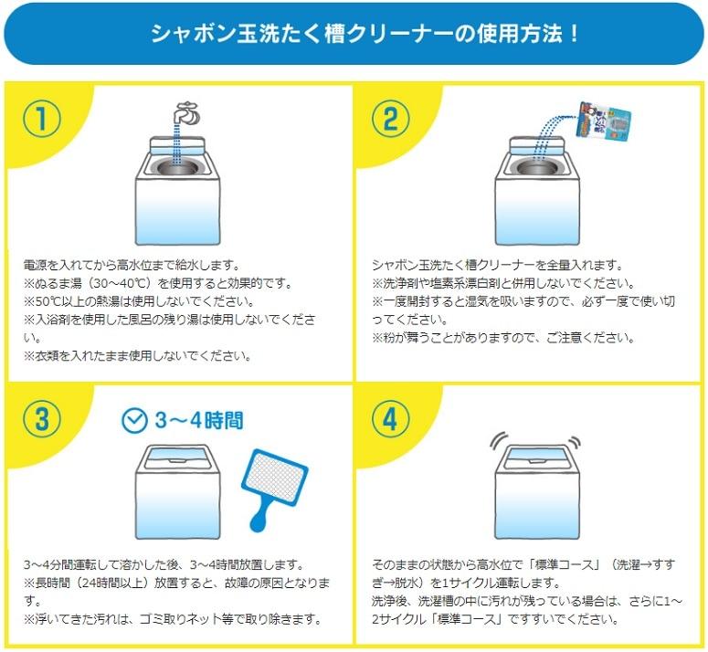 洗濯槽クリーナー,黒カビ,汚れ,除菌,ステンレス槽,プラスティック槽,お手入れ,つけおき,洗浄,ニオイ,ごっそり落ちる