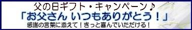「父の日ギフトキャンペーン」