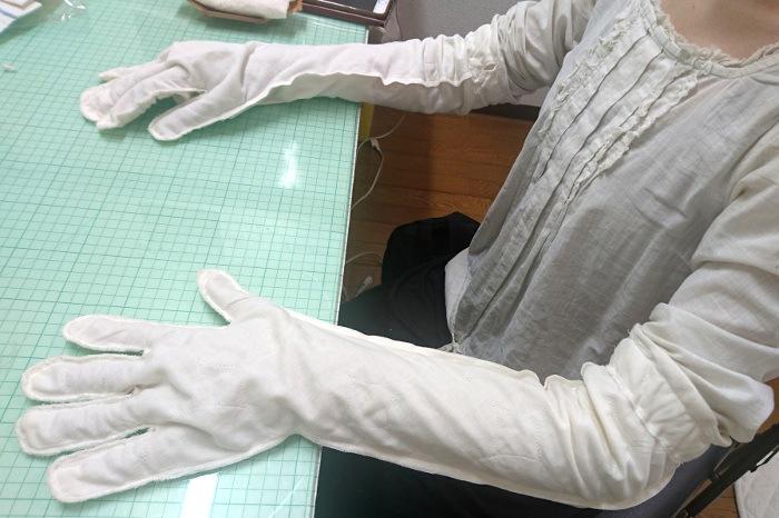 アトピー保護手袋