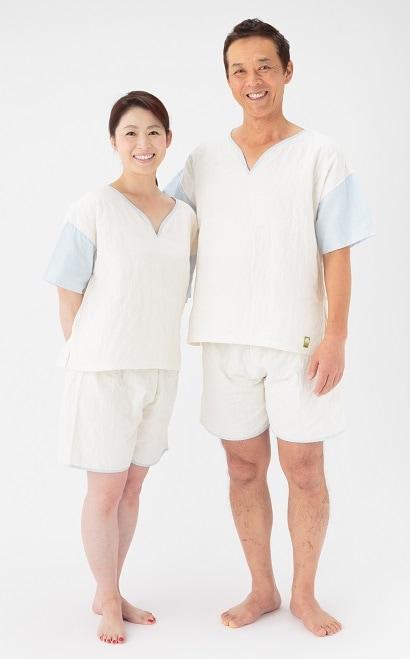 新パシーマ生地 リラックスウェア くつろぎウェア 夏に最適 汗かき くつろぎウェア