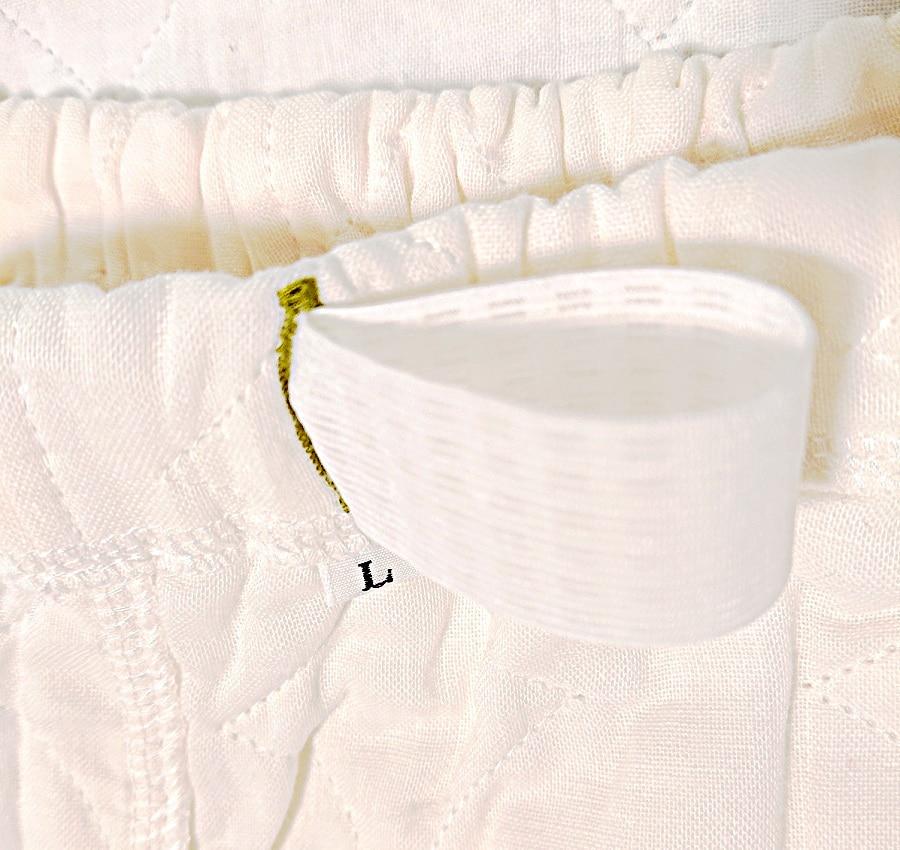 商品の特徴 薄いパシーマパジャマ アイディング元気ウエア オリジナル リピーター 通販 ネットショップ 夏用 男女共通 アトピーパジャマ ウエストゴム改良