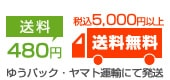 送料480円、税込5,000円以上で送料無料!
